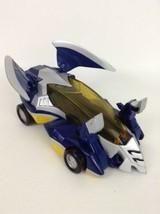 Power Rangers Jungle Fury Blue Bat Thunder Roar Transforming Car Bandai 2007  - $20.74