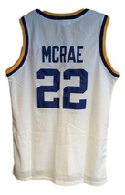 Butch Mcrae Western Blue Chips Movie Basketball Jersey Sewn White Any Size image 5