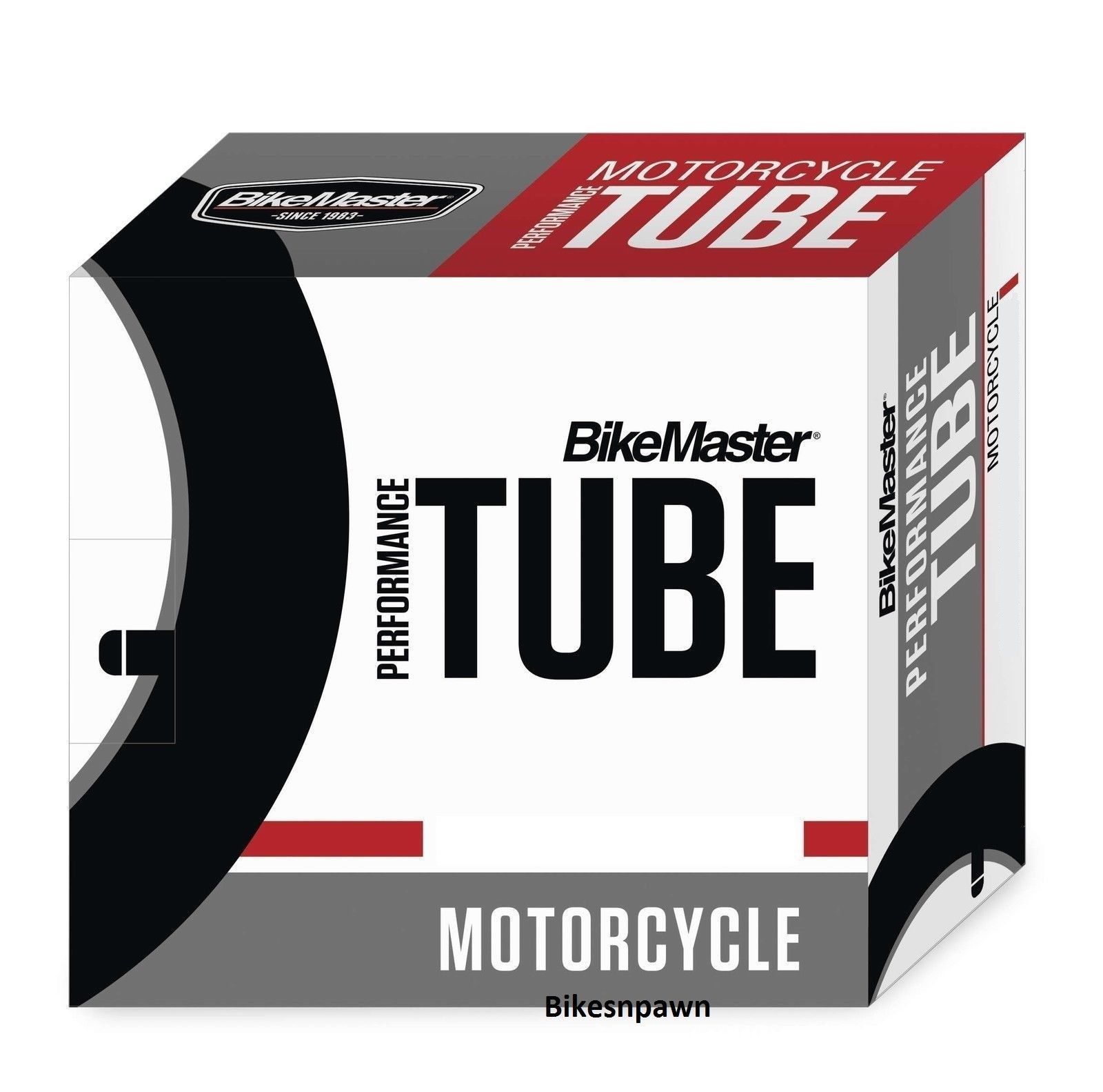 New BikeMaster 325/350/410-18 TR6 Center Metal Valve Stem Motorcycle Tire Tube