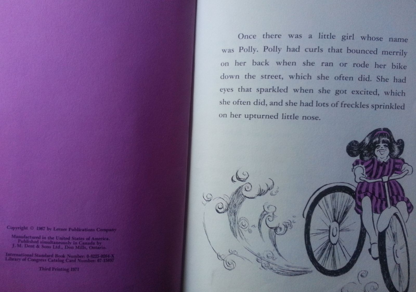 Polly and the President (LBJ) by Mary L. Davis 1967 HB