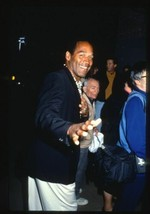 Buffalo Bills O.J. SIMPSON Candid ca 1990 35mm Slide Transparency - $12.69