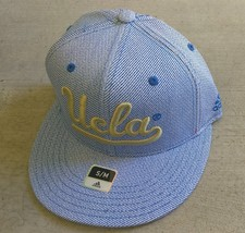 Adidas NCAA UCLA Bruins Football Hat Cap Flat Brim Sz S/M - $20.00