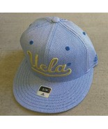 Adidas NCAA UCLA Bruins Football Hat Cap Flat Brim Sz S/M - $20.00