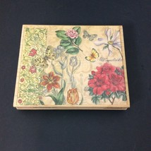 Butterfly Floral Collage Rubber Stamp Tapestry Studio Collection Stamps Happen - $7.78