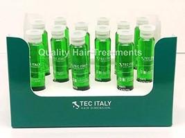 Tec Italy Hair Therapy Tonico AntiCaduta 12 Ampolletas de - 10 ml/0.33 oz - $30.01