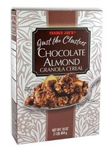 Trader Joe's Just the Clusters Chocolate Almond Granola Cereal 2 Pack - $20.86