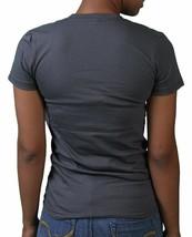 Neff Womens Charcoal Lovely Girls Sucker Face Love Statue T-Shirt NWT image 2