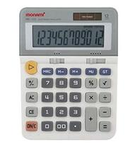 Monami MC-122 12 Digits Dual Powered Standard Function Desktop Calculator