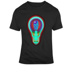 Neon Skull Light Bulb T Shirt - $26.99+