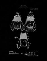 Sting-proof Bee-veil Patent Print - Black Matte - $7.95+