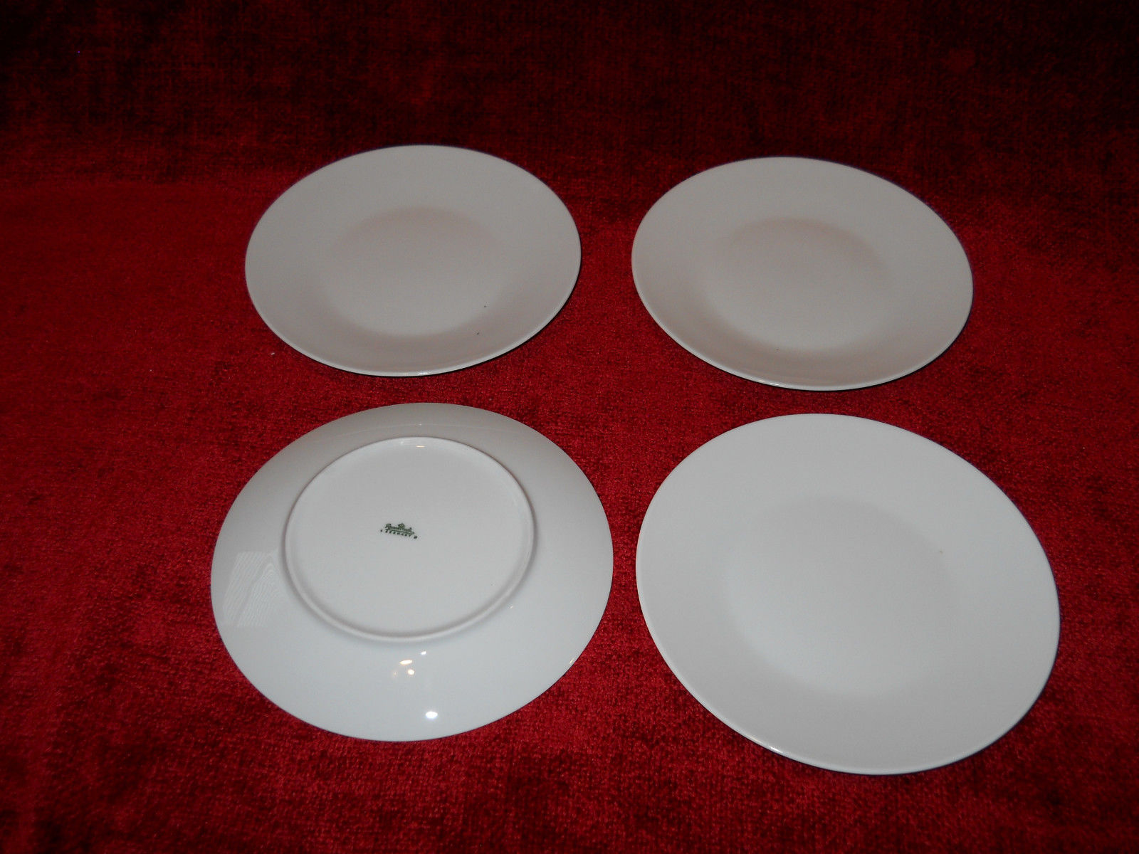 "Primary image for Rosenthal Classic Modern white set of four  6"" bread plate"