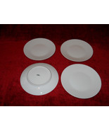 "Rosenthal Classic Modern white set of four  6"" bread plate - $23.71"
