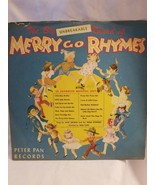 """Vintage 1949 Peter Pan Records Merry Go Rhymes 78 #2117 10"""" Collectors A... - $22.72"""