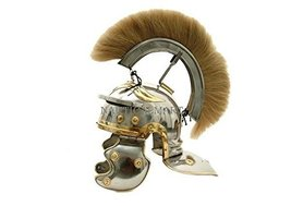Roman Centurion Helmet With White Plume - $148.49