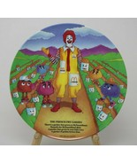 McDonalds Ronald McDonald Collector Plate The French Fry Garden 1989 - $9.87