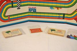 Transogram Rare Four Lane Road Racing Game on the Famous Sebring Track 1963  image 7