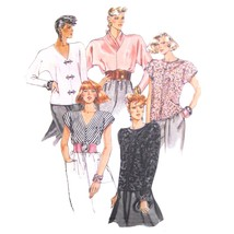 80s Vintage McCall Sewing Pattern 3951 Misses Easy Pullover Blouse Top M... - $6.95