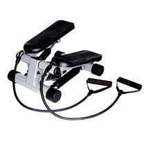 Sunny Health & Fitness Mini Stepper with Resistance Bands - $53.29