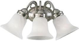 Bathroom Vanity Lighting 16 in. W 3-Light Down-Up Direction Brushed Nickel - $89.34