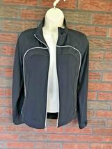 Tail Tech Jacket Small Full Zip Black Coat Horseshoe Detail Inner Outer ... - $9.80