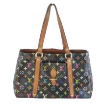 Louis Vuitton Black Multicolor Aurelia MM Tote Bag - $529.00