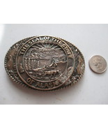 The Seal of the State of Alaska Belt Buckle by Tony Lama - $18.00