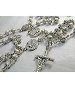 BL Rosary Basilica, Saints Paolo, Pietro, Giovanni, M. Maggiore, Silver ... - $40.00