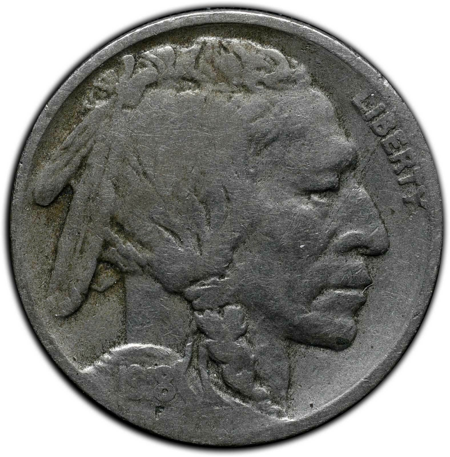 1918D Buffalo Nickel Coin Lot# A 280