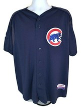 Chicago Cubs  MLB  Majestic Men's Jersey  Navy  Size XL  Authentic Colle... - $16.69