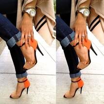 2018 Fashion Summer Casual High Heels Women Thin Heels Sandals Shoes