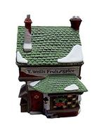 """Department 56 """"T.Wells Fruit and Spice Shop Retired - $31.63"""