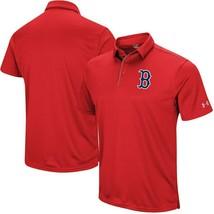 Boston Redsox Polo SHIRT-3XL-UNDER Armour Tech POLO-RED-NWT-RETAIL $55 - $49.99