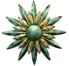 Regal Art & Gift 10200 Sunburst Sun Wall Decor, Aqua - $53.43