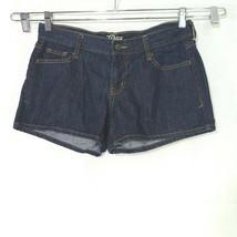 Old Navy The Diva Denim Jean Shorts Women Size 6 Blue Dark Wash - $12.86