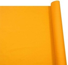 Vibrant Orange Plain Polycotton Fabric Material 2 Sizes - $5.10+