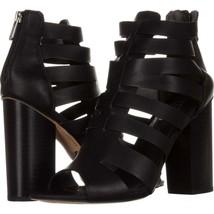 Curcis Sam Edelman York Strappy Dress Sandals 782, Black, 8.5 US / 38.5 EU - $47.99