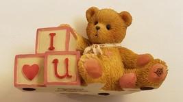 Cherished Teddies I Lov You Letters Mini Fig Ltd. Edition 1996 Priscilla Hullman - $4.95
