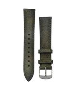 Michele 16mm Metallic Genuine Saffiano Leather Strap MS16AA430839 Deco 1... - $48.19