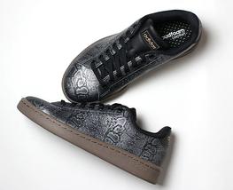 new adidas ADVANTAGE Snake Print Leather shoes women's sz 7 or 8 tennis ... - $54.90