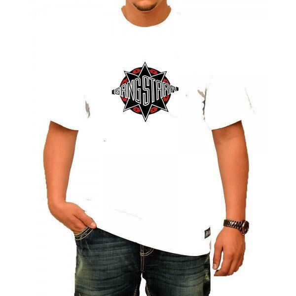 Primary image for GangStarr HIP HOP  White T-Shirt