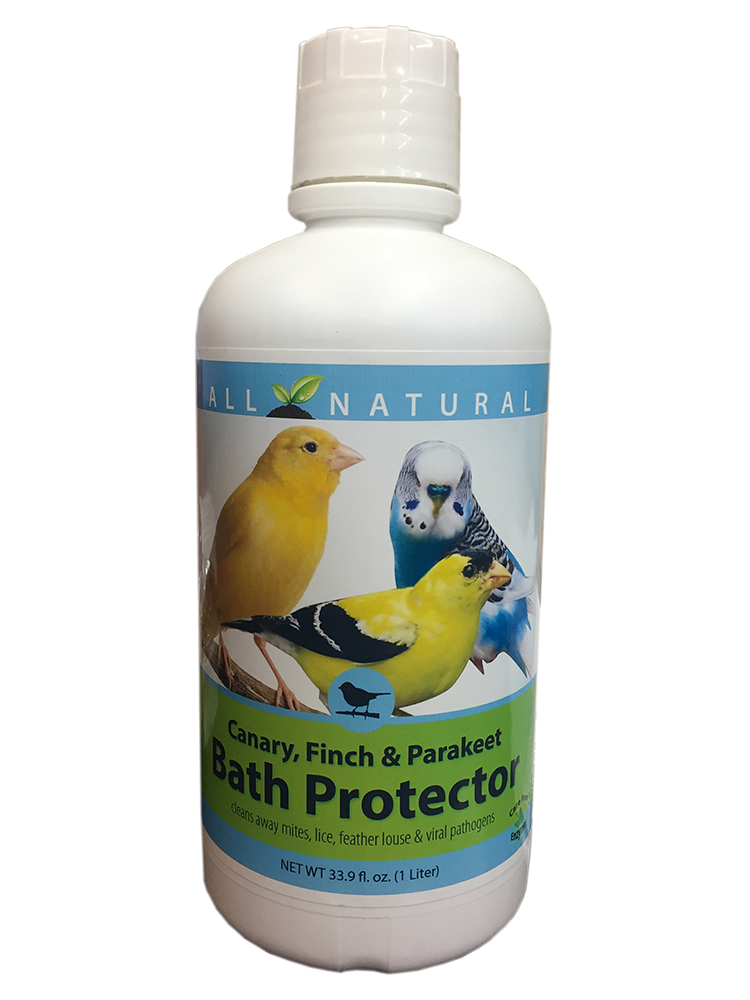 Care Free Enzymes Canary, Finch & Parakeet Bath Protector 94004 33.9 oz.