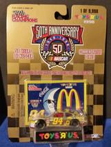 1998 Racing Champions 1/64 Bill Elliot #94 Mac Tonite Toys R Us Gold 1/9998 - $7.55
