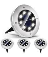 LED Solar Ground Spot Lights- 10 Pack - $28.02