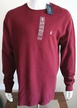 Polo Ralph Lauren Mens T-Shirt Wine 100% Cotton Size XL - $36.24
