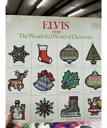 Elvis sings The Wonderful World of Christmas - 1971 - $45.00