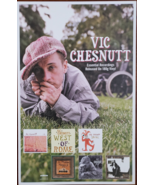 "Vic Chesnutt Essential Recordings on Vinyl 11"" x 17"" Promo Poster - $14.95"