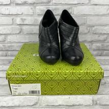 Gianni Bini Tynee 4 Inch High Heel Booties Coal Black Size 7.5M - $44.50