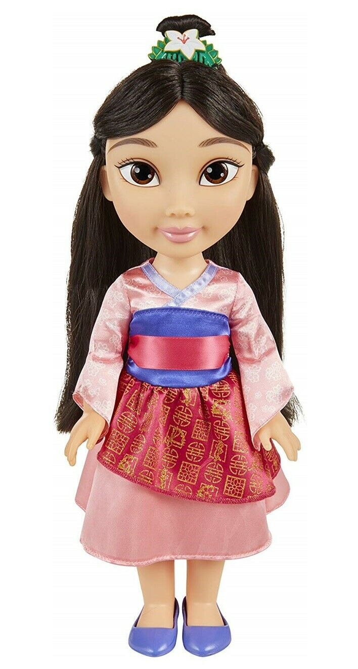 "Primary image for Disney Princess Mulan Toddler Doll 14"" Licensed NEW"