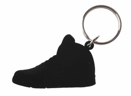 Good Wood NYC Metallic 5 Black Sneaker Keychain Blk V Shoe Key Ring key Fob image 2