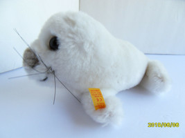 Steiff seal baby seal button flag  made in Germany 2735 - $37.99